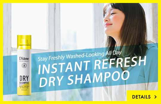 Stay Freshly Washed-Looking All Day INSTANT REFRESH DRY SHAMPOO